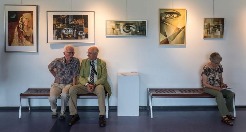 City of Cultures Festival Iran 2018 Kunstexpositie Iraanse kunstenaars - foto Jan Snel