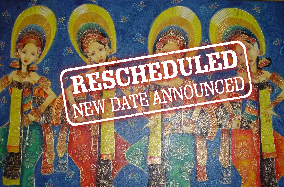City of Cultures Festival Indonesia Rescheduled New date april 2021