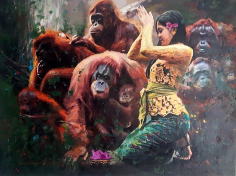 Any Ian Surya Festival Indonesie 2021 Kunst met Indische Roorts City of Cultures