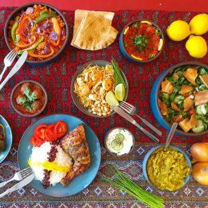 Indonesisch buffet Food of Cultures Festival Indonesie 2021 Torckpark Wageningen