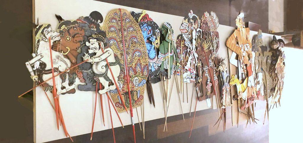 Festival Indonesie Wageningen Wajang poppen van Hedi Hinzel City of Culture