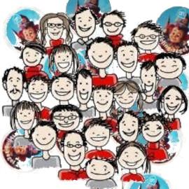 Alle mensen met Eftelingzegels van Eekhout Festival Indonesie 2021 City of Cultures