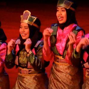 Festival Indonesie 2021. Zaterdag 21 augustus Junushoff Wageningen. PPI danspresentatie