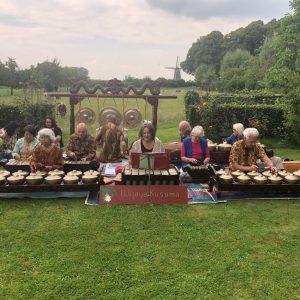 Festival Indonesie Wageningen 2021 Gamelan orkest Wijaya Kusuma City of Cultures